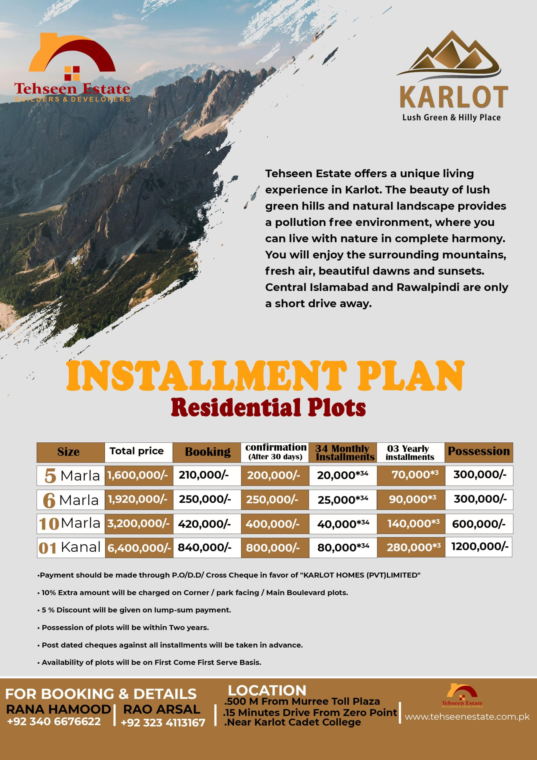 karlot homes payment plan 2021